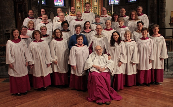 2013 photo of the Trinity Choir